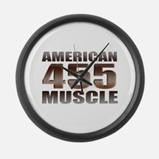 American Muscle 455 Oldsmobil Large Wall Clock