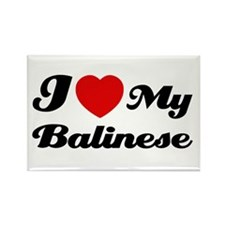I love my Balinese Rectangle Magnet