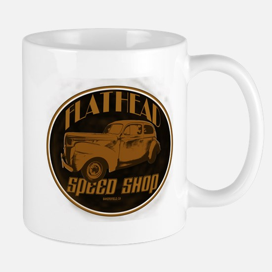 1940 Ford Deluxe Coupe Flathe Mug
