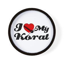 I love my Korat Wall Clock