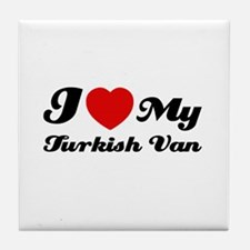 I love my Turkish Van Tile Coaster