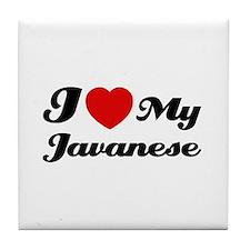 I love my javanese Tile Coaster