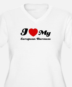 I love my European Burmese T-Shirt