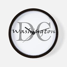 Washington thru DC Wall Clock