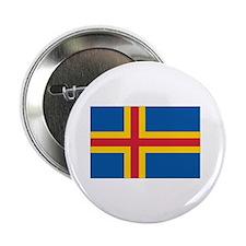 """Åland Flag 2.25"""" Button"""
