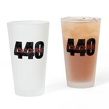 Unchain the monster Mopar 440 Drinking Glass