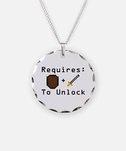 Requires: Shield and Sword Necklace