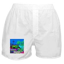Easter Christians Cross Boxer Shorts
