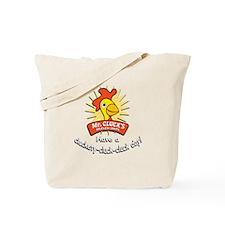 Mr. Cluck's w/URL Tote Bag