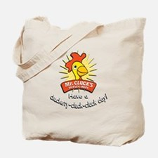 Mr. Cluck's w/URL Tote Bag
