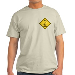 Duck Crossing Sign T-Shirt