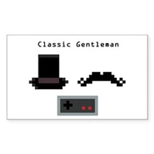 Classic Gentleman Decal