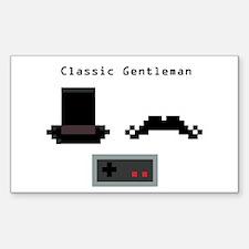Classic Gentleman Decal