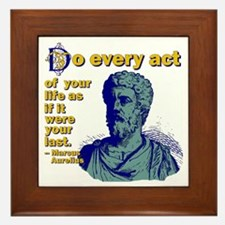 Do Every Act Framed Tile