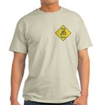 Blue Jay Crossing Sign Light T-Shirt