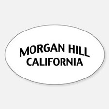 Morgan Hill California Decal