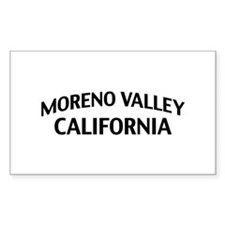 Moreno Valley California Decal