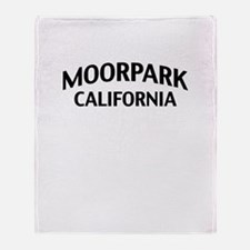 Moorpark California Throw Blanket