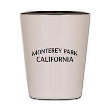 Monterey Park California Shot Glass