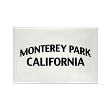 Monterey Park California Rectangle Magnet