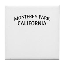 Monterey Park California Tile Coaster