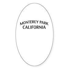 Monterey Park California Decal