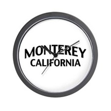 Monterey California Wall Clock