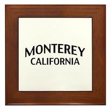 Monterey California Framed Tile