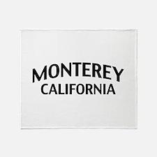 Monterey California Throw Blanket