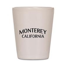 Monterey California Shot Glass