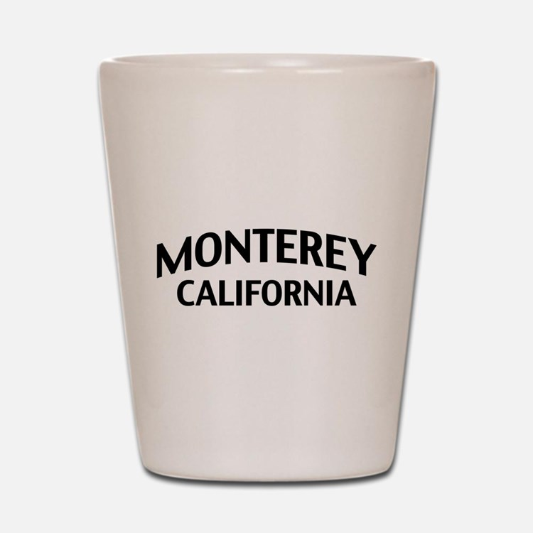 Monterey California Shot Glass