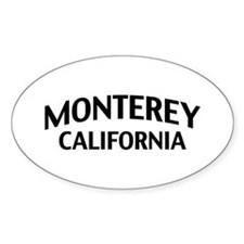 Monterey California Decal