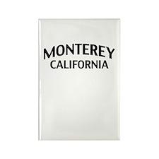 Monterey California Rectangle Magnet