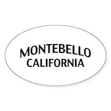 Montebello California Decal