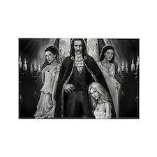 Brides of Dracula Rectangle Magnet