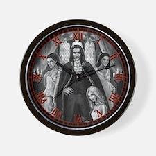 Brides of Dracula Wall Clock