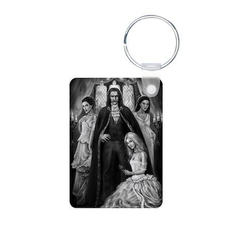 Brides of Dracula Aluminum Photo Keychain