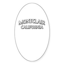 Montclair California Decal