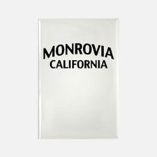 Monrovia California Rectangle Magnet
