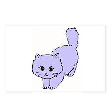 Cute Kitten Cartoon Postcards (Package of 8)