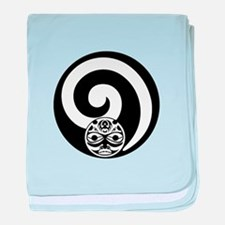 AT THE CREST baby blanket
