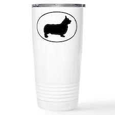 Pembroke Corgi SILHOUETTE Travel Mug