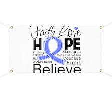 Faith Hope Esophageal Cancer Banner