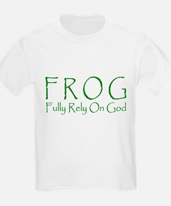 Fully Rely On God Kids T-Shirt