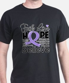 Faith Hope General Cancer T-Shirt