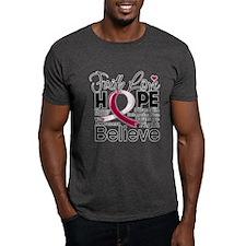 Faith Hope Head Neck Cancer T-Shirt