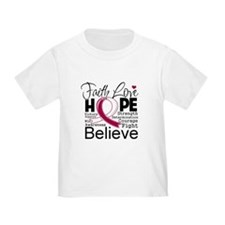 Faith Hope Head Neck Cancer T