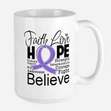 Faith Hope Hodgkins Disease Mug