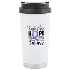 Faith Hope Hodgkins Disease Travel Mug