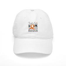 Faith Hope Kidney Cancer Baseball Cap